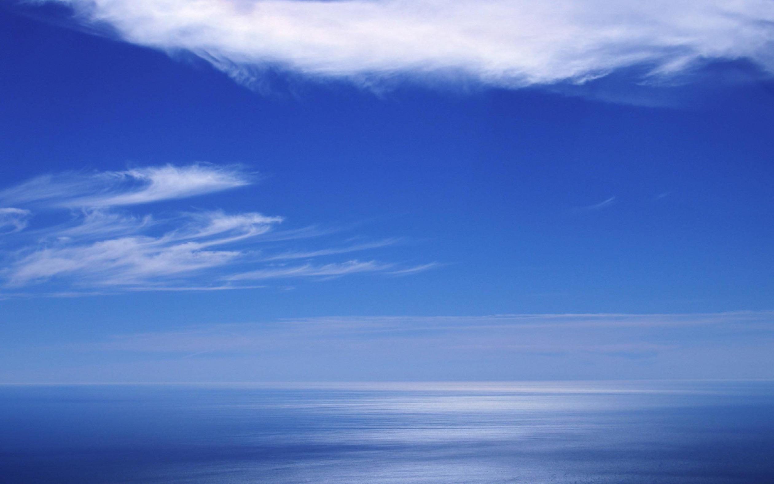 природа горизонт облака небо море nature horizon clouds the sky sea  № 2761309 без смс