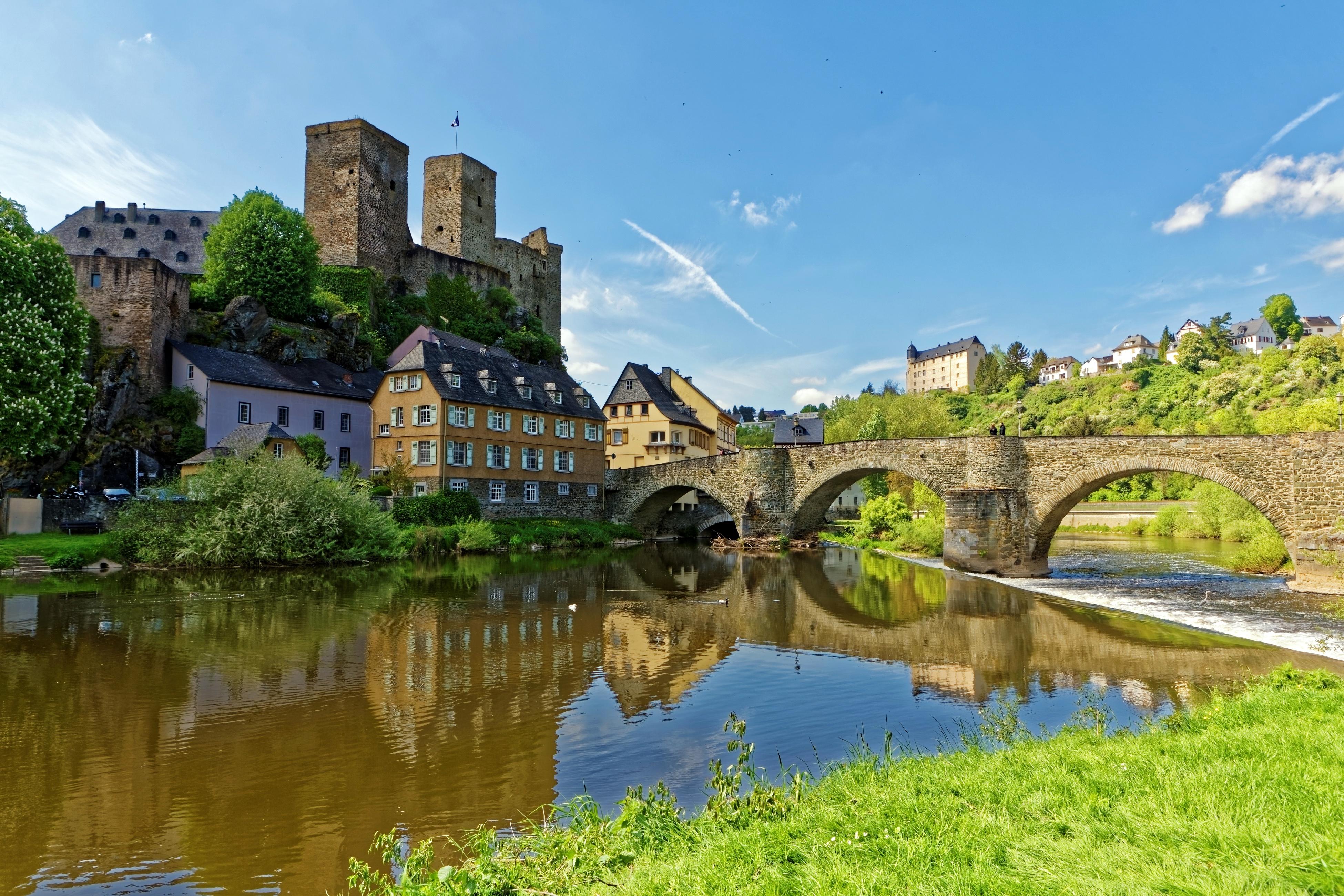 Lorch Village, Hesse, Rhine River, Germany  № 78233  скачать