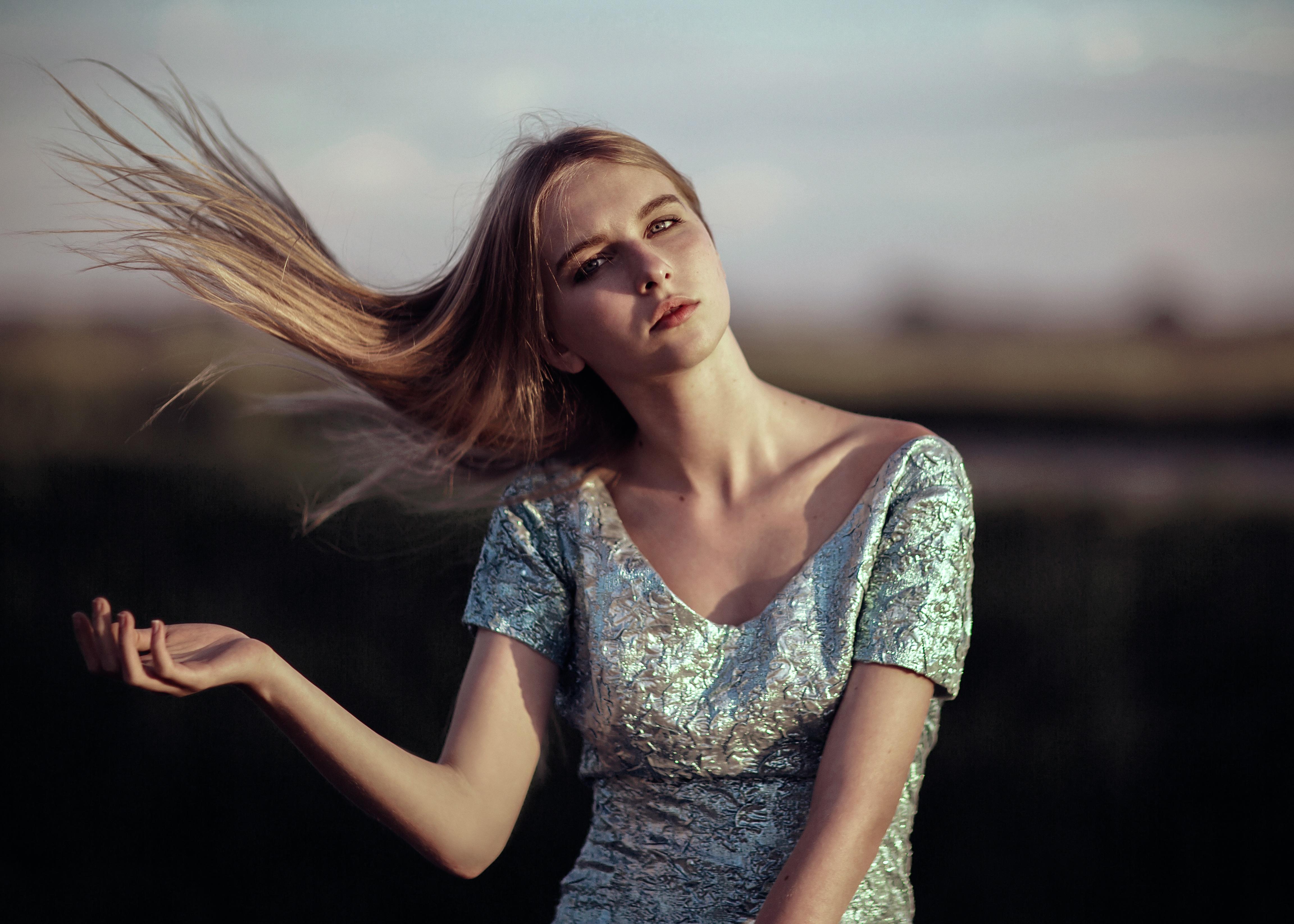 Как фотографировать взмах волос