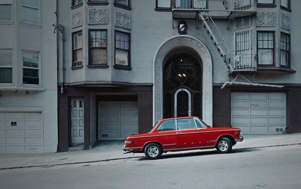 Фото обои наклон улица, Соединенные Штаты, Сан-Франциско, дома, автомобиль, Калифорния, город