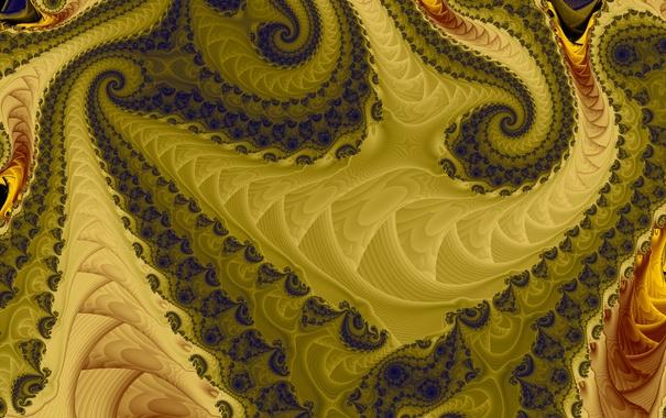 Фото обои узор, цвет, фрактал