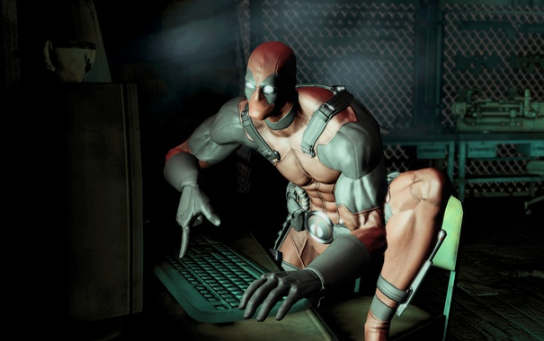 Фото обои Marvel, Wade Wilson, Deadpool: The Game, Activision Publishing, High Moon Studios