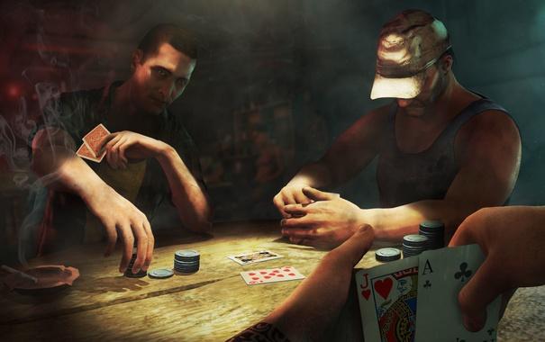 Обои карты, стол, игра, фишки, game, покер, ps3 картинки на рабочий стол, раздел игры - скачать
