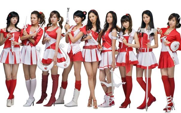 Фото обои Music, Asian, Girls, Beauty, SNSD, Kpop, Girls' Generation