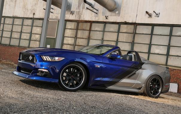 Фото обои Mustang, Ford, мустанг, кабриолет, форд, Convertible, Neiman Marcus