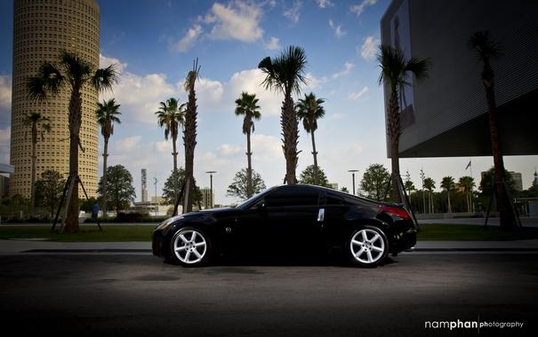 Фото обои Nissan, 350z, auto, Photography, Nam Phan