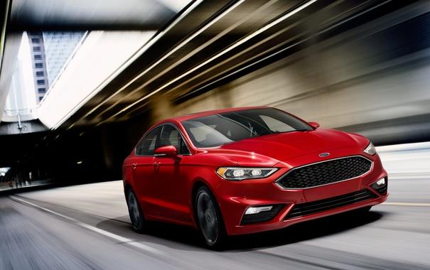 Фото обои Ford, серый фон, форд, Fusion, фиеста, Fiesta, фьюжн