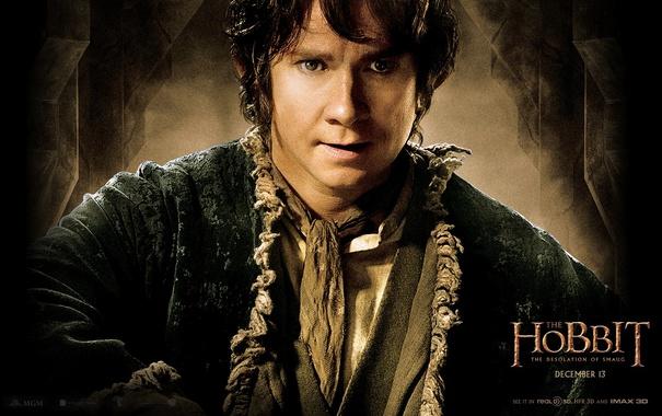 Фото обои martin freeman, hobbit: the desolation of smaug, хоббит: пустошь смауга, бильбо бэггинс, bilbo baggins, мартин ...