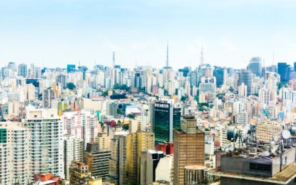 Фото обои Мегаполис, фото, Город, San Paulo, Дом, Бразилия