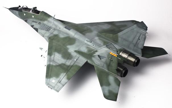 Фото обои игрушка, истребитель, многоцелевой, МиГ-29, моделька