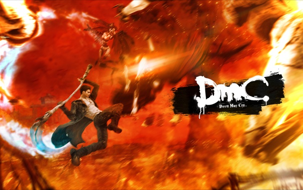 Фото обои devil may cry, dante, capcom, DmC: Devil May Cry, Дьявол может плакать, nephilim