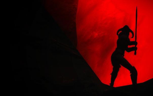 Фото обои девушка, игра, Skyrim, The Elder Scrolls, Скайрим