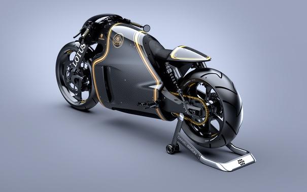 Фото обои Motorcycles, Lotus, C-01