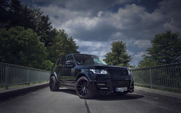 Фото обои Land Rover, Range Rover, 2014, Tuned by Lumma Design
