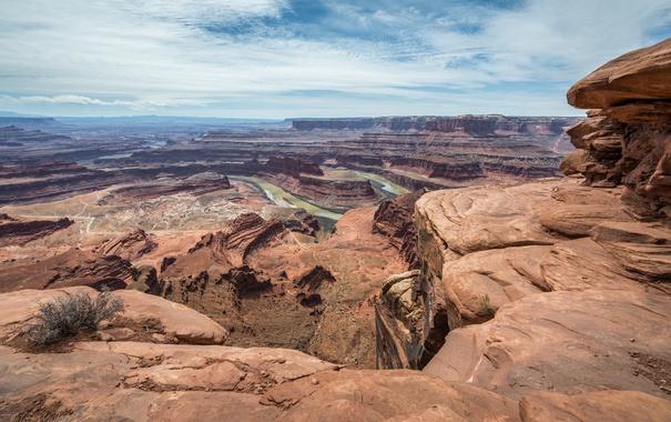 Фото обои photography, Jeff Wallace, небо, фотограф, каньон, photographer