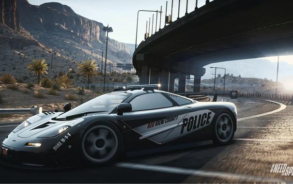 Фото обои Mercedes, Need for Speed, nfs, 2013, McLaren F1, Rivals, NFSR