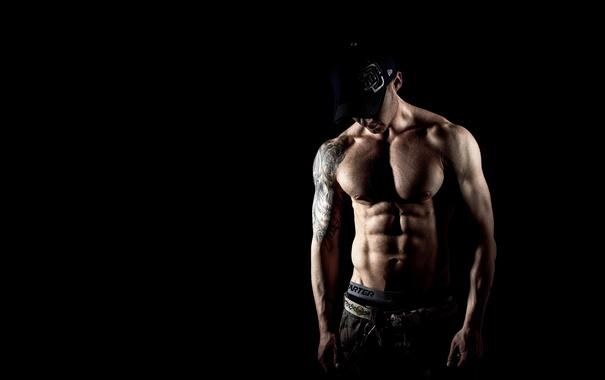 Фото обои sexy, muscles, pose