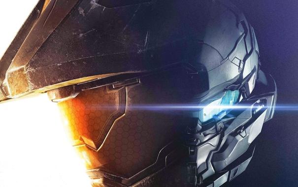 Фото обои игра, солдаты, эксклюзив, шлемы, Мастер Чиф, Halo 5: Guardians, агент Лок
