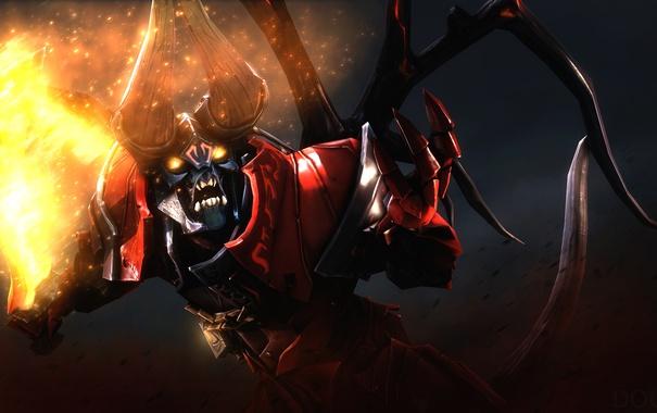 Фото обои Valve, Dota 2, Doom, Action RTS