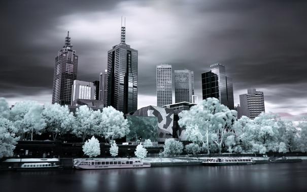 Фото обои Melbourne, Australia, Victoria