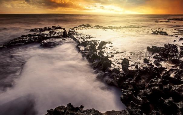 Фото обои море, волны, природа, берег, Бразилия