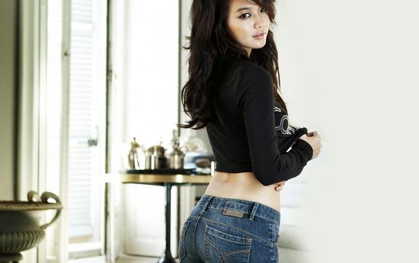 Фото обои Girl, Sexy, Music, Asian, Beauty, Kpop, Room
