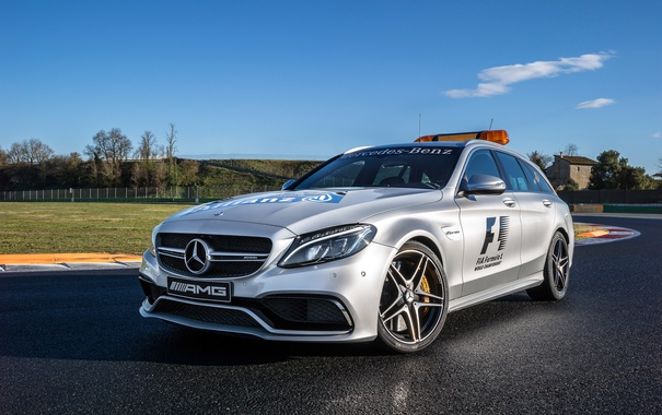 Фото обои Medical Car, C 63 S, S205, 2015, Estate, амг, AMG