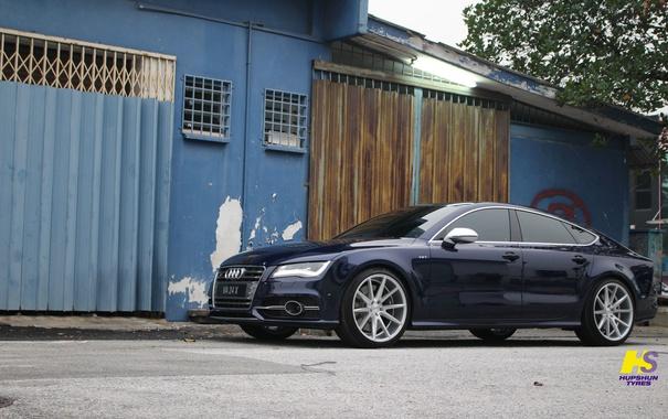 Фото обои машина, авто, Audi, wheels, диски, auto, Vossen Wheels