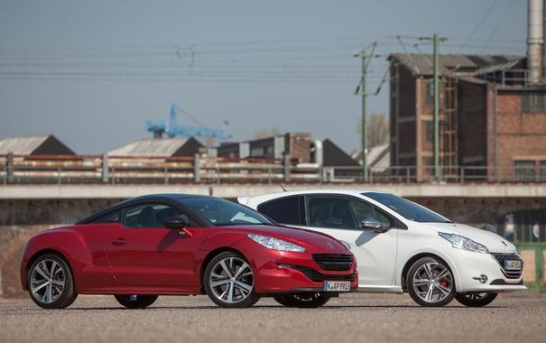 Фото обои Peugeot, RCZ, cars, and, mixed, 208 GTI