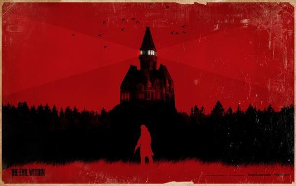 Фото обои the evil within, Sebastian Castellanos, asylum, хоррор, games, horror, игры