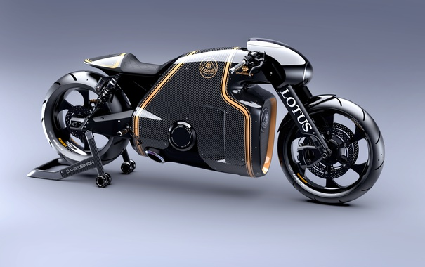 Фото обои Motorcycles, Lotus, C-01
