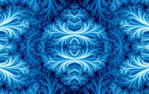 Фото обои свет, узор, цвет, фрактал, симметрия