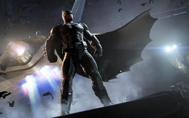 Фото обои плащ, Batman, DC Comics, Warner Bros. Games Montreal, Batman: Arkham Origins
