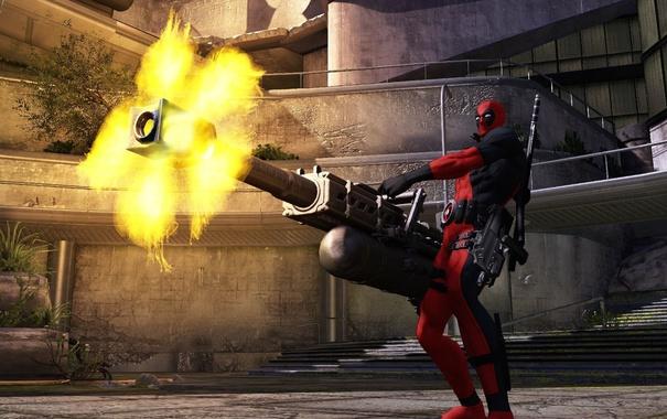 Фото обои Deadpool: The Game, обои, игра, скриншот