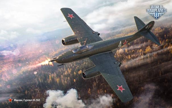Фото обои советский, Микоян, истребитель, Wargaming, Гуревич, World of Warplanes, WoWp