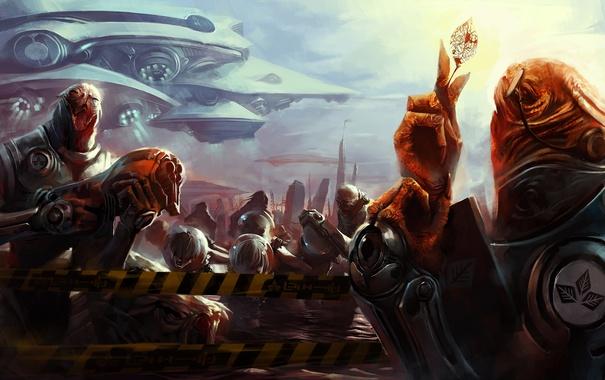 Фото обои army, Invasion, alien