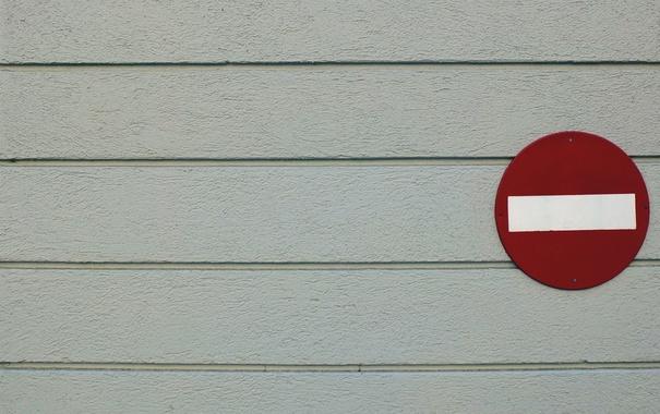 Фото обои фон, стена, знак