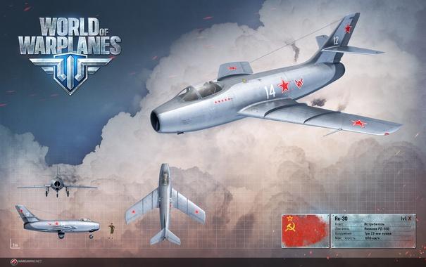 Фото обои самолет, USSR, СССР, aviation, авиа, MMO, Wargaming.net