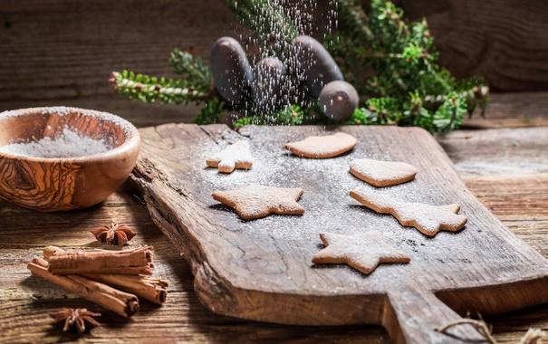Фото обои decoration, cookies, Christmas, Рождество, глазурь, печенье, сладкое