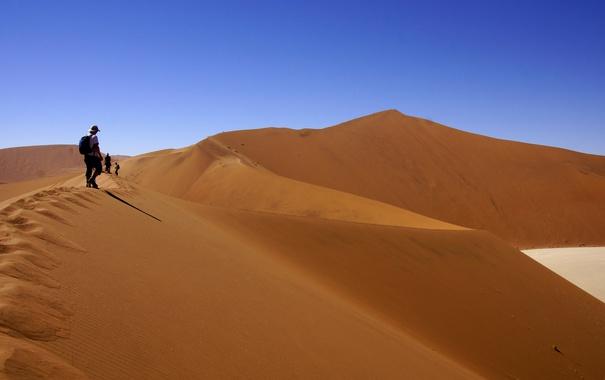 Фото обои people, heat, wilderness expedition