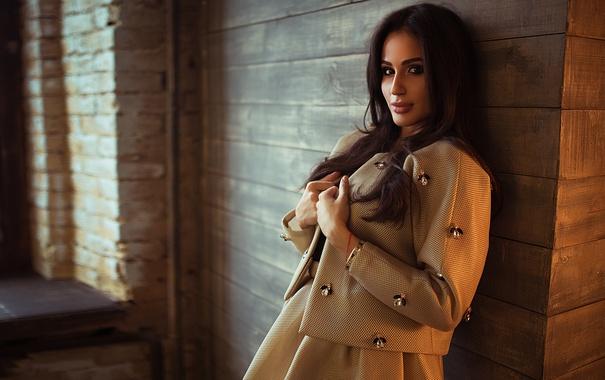 Фото обои Girl, Model, Moscow, View, Fashion, Top, Gorokhov