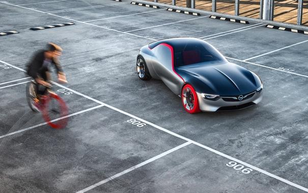 Фото обои Concept, Opel, концепт, опель