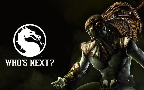 Фото обои боец, NetherRealm Studios, Mortal Kombat X, Kotal Kahn