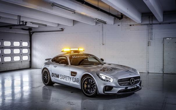 Фото обои Mercedes, мерседес, AMG, DTM, Safety Car, 2015, GT S