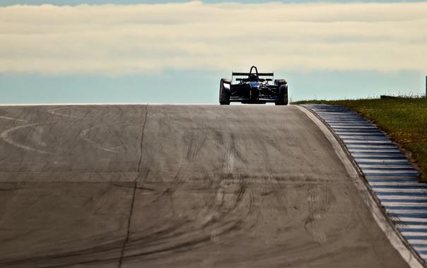 Фото обои гонка, спорт, motorsport, donington, Formula E