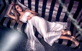 Картинка диван, платье, Vita Vecera
