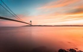 Картинка мост, город, Brooklyn, Bay Ridge