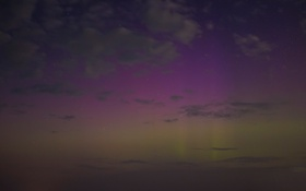 Обои небо, звезды, облака, ночь