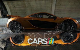 Обои Racing Game, Project Cars Wallpaper, Project Cars, McLaren, Wet