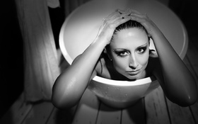 Обои ванна, producer, Charlotte Fantelli